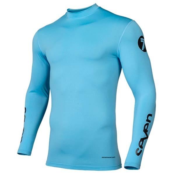 Motocross Jersey Seven Zero Compression Blue
