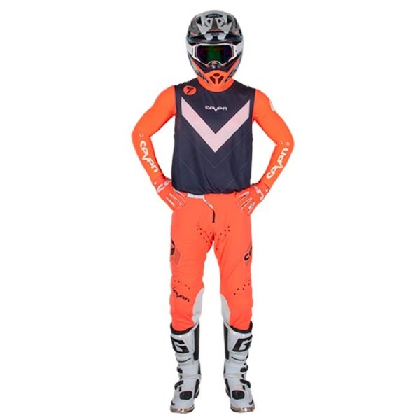 Pantalones Motocross Seven Zero Victory Coral