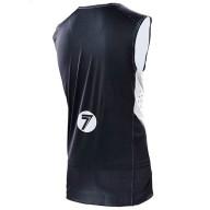 Motocross Jersey Seven Zero Staple Black