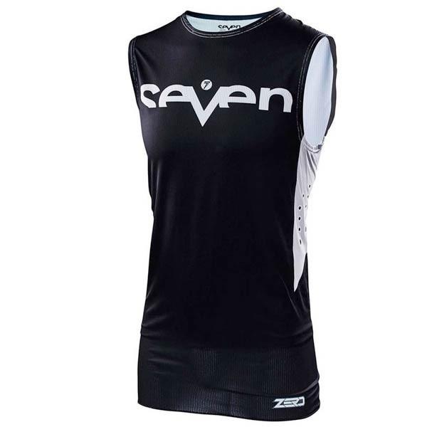 Camiseta Motocross Seven Zero Staple Black