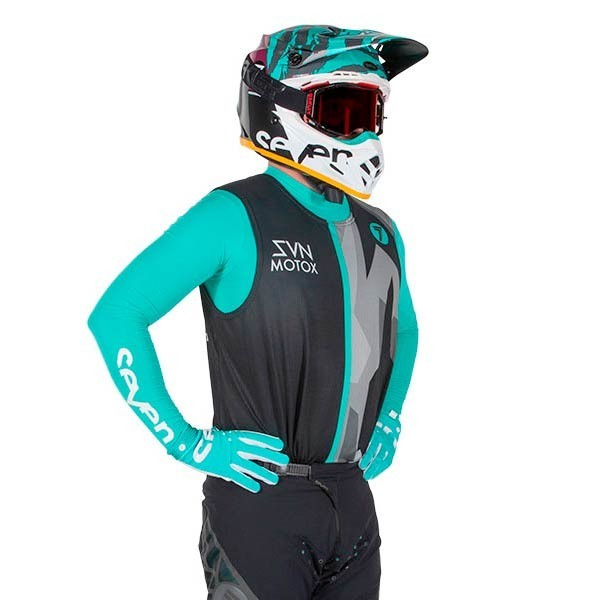 Motocross Trikot Seven Zero Raider Black