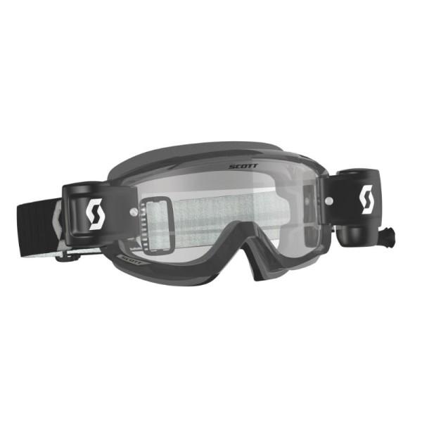 Motocross-Brille Scott Split OTG WFS Schwarz/Grau