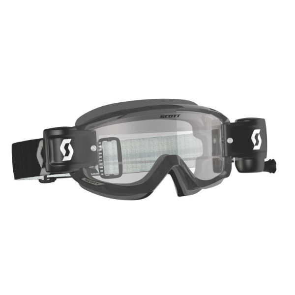 Motocross Goggles Scott Split OTG WFS Black/Grey