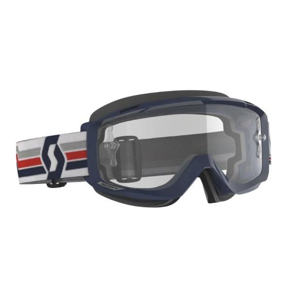 Motocross Goggles Scott Split OTG Blue/White