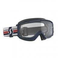 Gafas de Motocross Scott Split OTG Azul Oscuro/Blanco