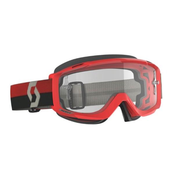 Motocross Goggles Scott Split OTG Red/Grey