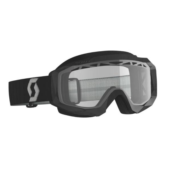 Motocross Goggles SCOTT Hustle X MX Enduro Black/Grey