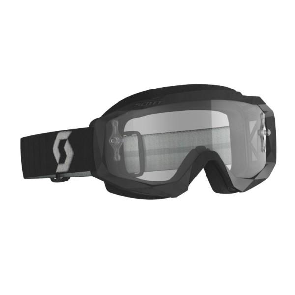 Gafas de Motocross SCOTT Hustle X MX Negro/Gris