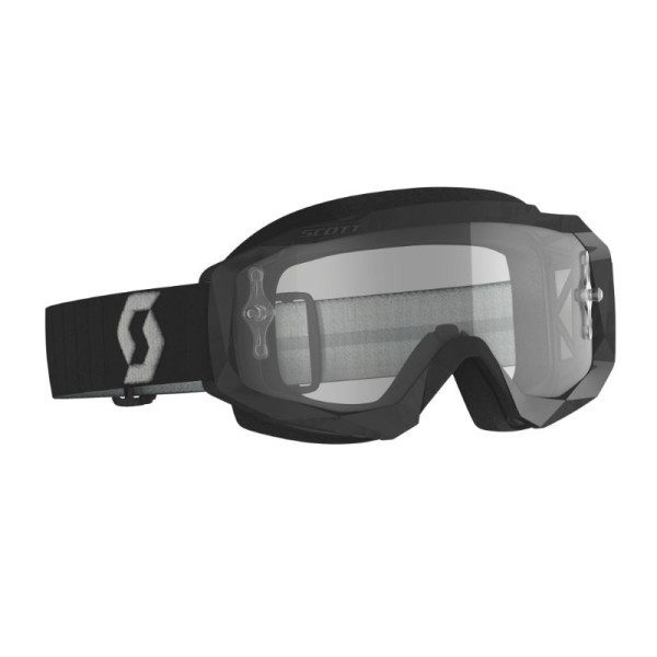 Motocross-Brille SCOTT Hustle X MX Schwarz/Grau