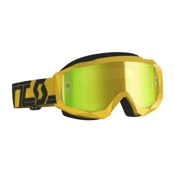 Motocross-Brille SCOTT Hustle X MX Gelb/Schwarz