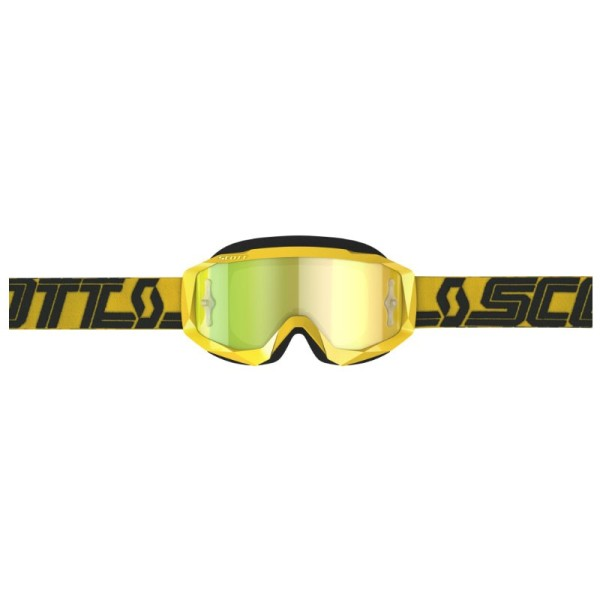 Motocross Goggles SCOTT Hustle X MX yellow black