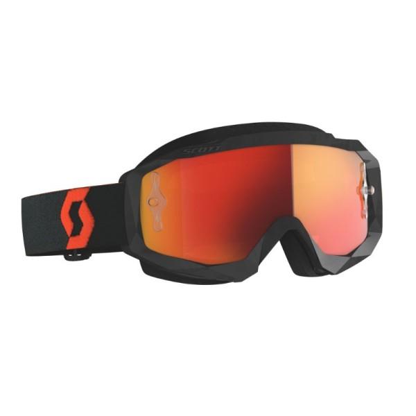 Motocross-Brille SCOTT Hustle X MX Orange/Schwarz