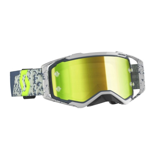Gafas de Motocross Scott Prospect Gris/Gris Oscuro