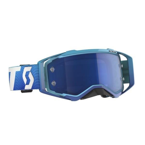 Gafas de Motocross Scott Prospect Azul Oscuro/Blanco