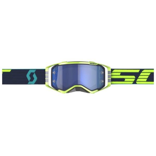 Gafas de Motocross Scott Prospect Azul Oscuro/Amarillo