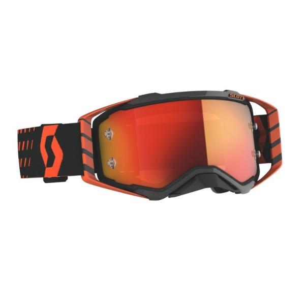 Occhiali Motocross Scott Prospect arancione nero