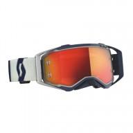 Gafas de Motocross Scott Prospect Gris/Azul Oscuro