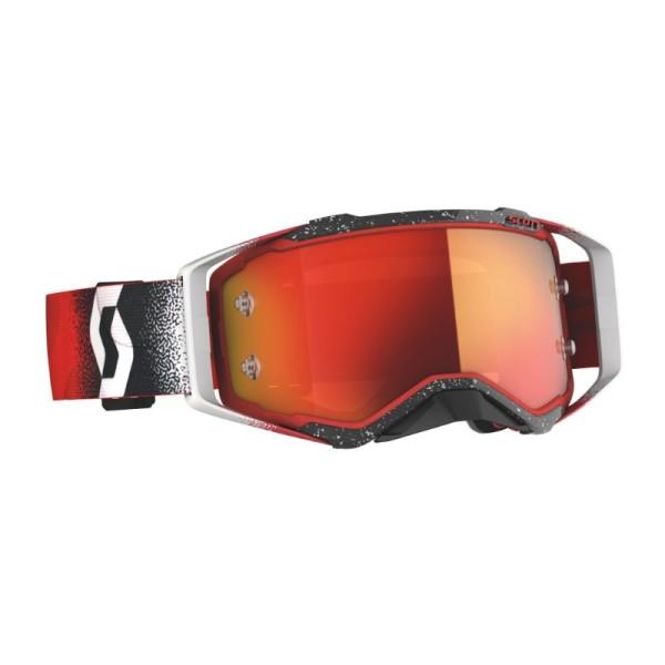 Motocross Goggles SCOTT Prospect White/Red