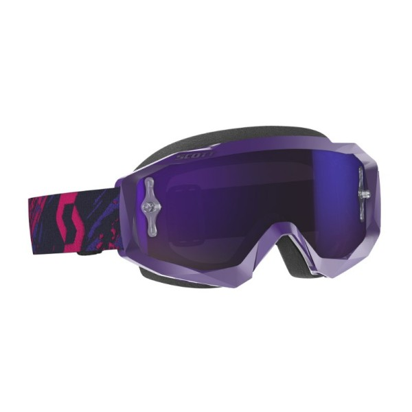 Motocross Goggles SCOTT Hustle X MX Purple Pink