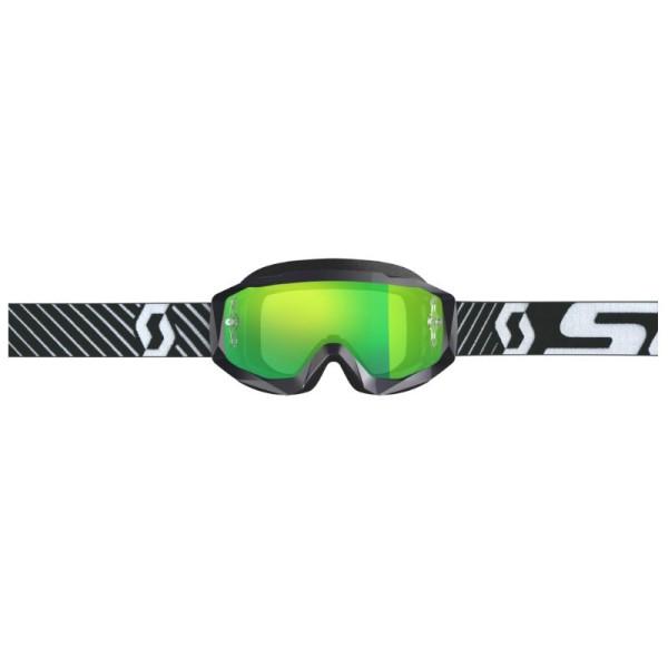 Motocross Goggles SCOTT Hustle X MX Black White