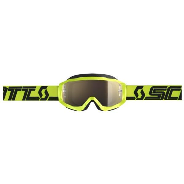 Lunettes Motocross SCOTT Hustle X MX Yellow Black