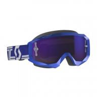 Motocross Goggles SCOTT Hustle X MX Blue White