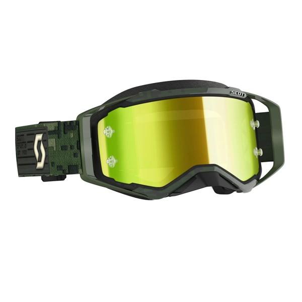Motocross Goggles Scott Prospect Kaki Green