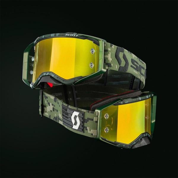Gafas de Motocross Scott Prospect Kaki Verde