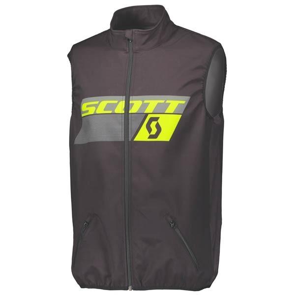 Chaqueta Enduro Scott Vest Black Yellow