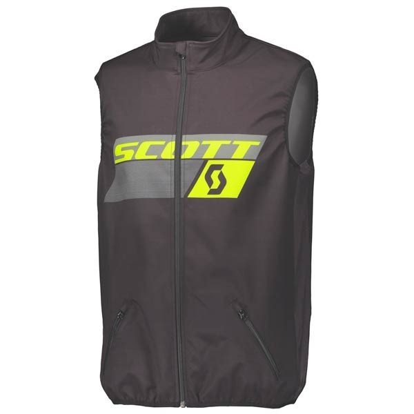 Giacca Enduro Scott Vest Black Yellow
