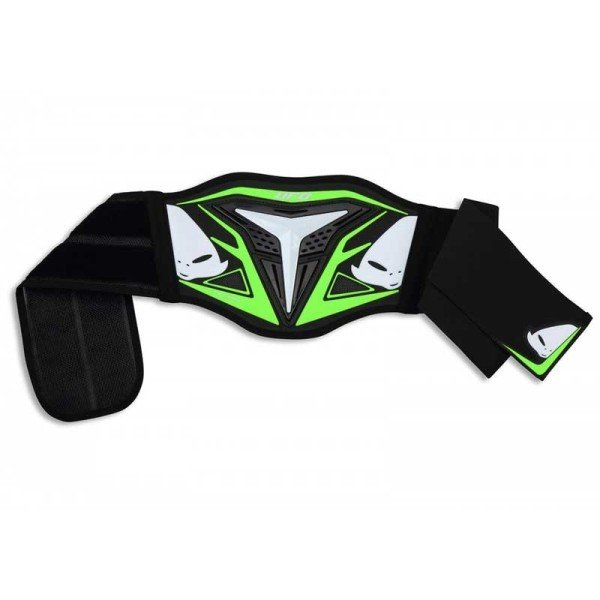 Fajas Riñones Minicross Ufo Plast DEMON KID Negro Verde
