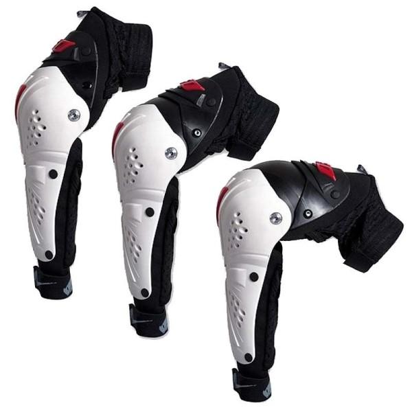 Motocross Elbow Guards Ufo Plast Professional Evo white