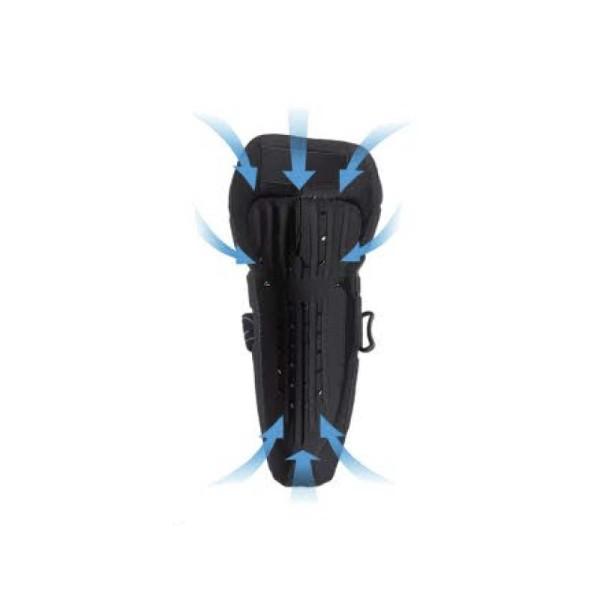 Genouilleres Motocross Ufo Plast Limited noir