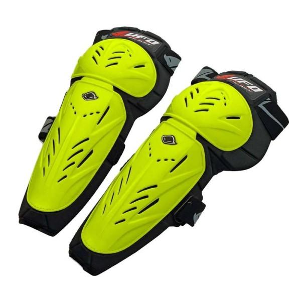 Genouilleres Motocross Ufo Plast Limited jaune