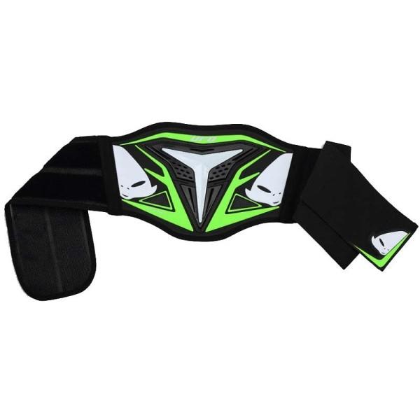 Fajas Riñones Motocross Ufo Plast Demon Negro Verde
