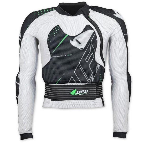 Motocross Armored Jacket Ufo Plast Ultralight 2.0
