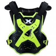 Plastron protecteur MX Ufo Plast X-Concept EVO black neon