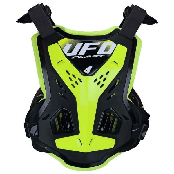 Chest roost motocross Ufo Plast X-Concept EVO black neon