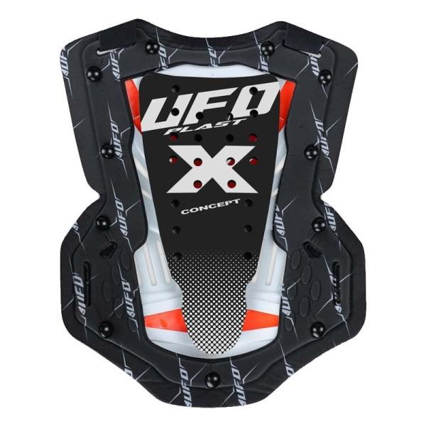 Motocross Brustpanzer Ufo Plast X-Concept EVO black neon