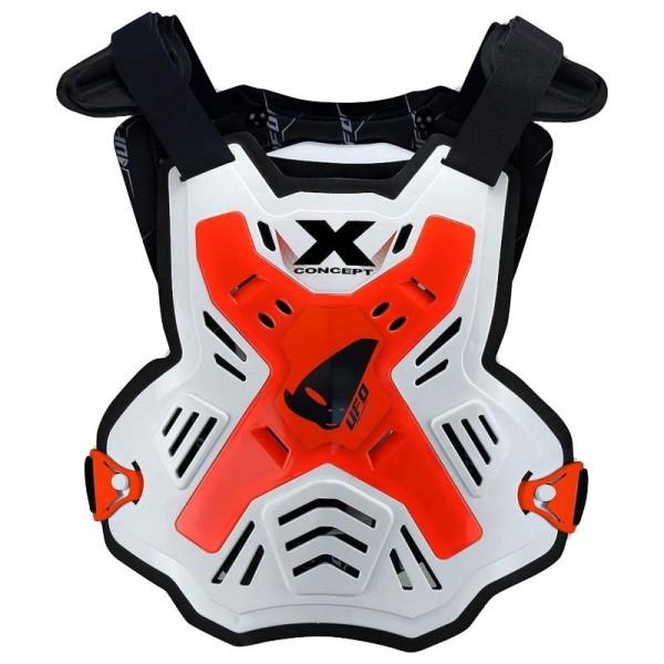 Peto Protector MX Ufo Plast X-Concept EVO Orange Fluo