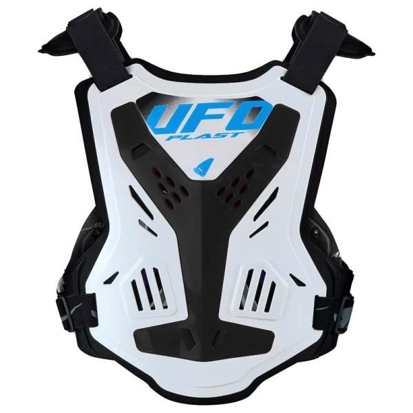Pettorina Motocross Ufo Plast X-Concept EVO White Black