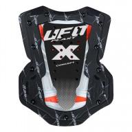 Chest Roost Protective Motocross Ufo Plast X-Concept EVO White Black