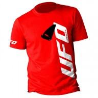 T-shirt Alien Ufo Plast Rot