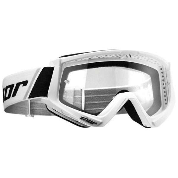Motocross youth goggles Thor Combat white
