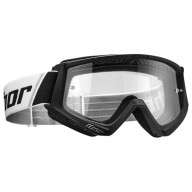 Motocross youth goggles Thor Combat black white