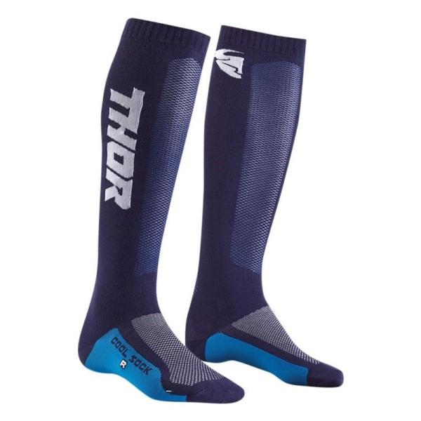 Motocross-Socken THOR MX Cool Sock Blue