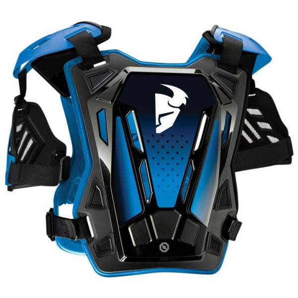 Peto Protector Motocross THOR Guardian Black Blue