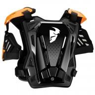 Peto Protector Motocross THOR Guardian Black Orange