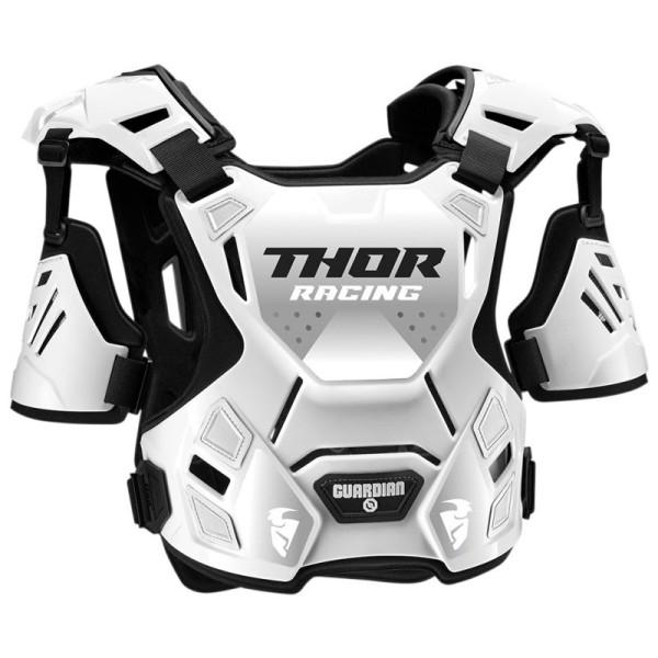 Motocross Brustpanzer THOR Guardian White