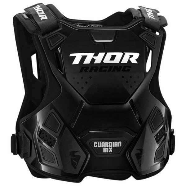 Chest Roost Protective Motocross THOR Guardian MX Black